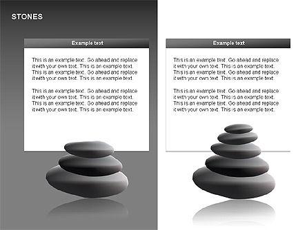 Stones Diagrams, Slide 13, 00285, Stage Diagrams — PoweredTemplate.com