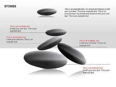 Stones Diagrams, Slide 15, 00285, Stage Diagrams — PoweredTemplate.com
