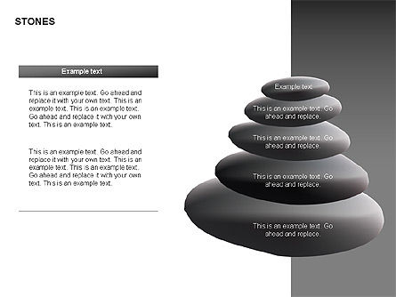 Stones Diagrams, Slide 4, 00285, Stage Diagrams — PoweredTemplate.com