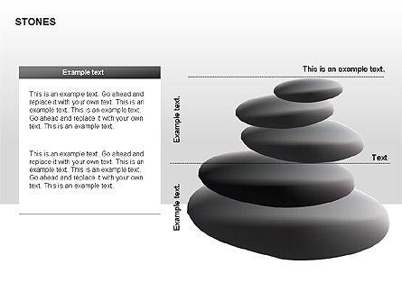 Stones Diagrams, Slide 5, 00285, Stage Diagrams — PoweredTemplate.com