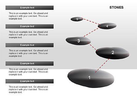 Stones Diagrams, Slide 8, 00285, Stage Diagrams — PoweredTemplate.com