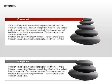Stones Diagrams, Slide 9, 00285, Stage Diagrams — PoweredTemplate.com