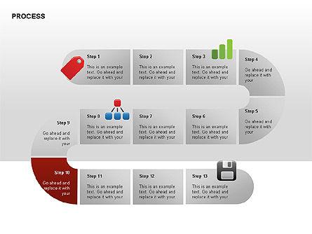 Process Diagrams, Slide 10, 00288, Process Diagrams — PoweredTemplate.com