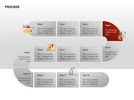 Process Diagrams, Slide 5, 00288, Process Diagrams — PoweredTemplate.com