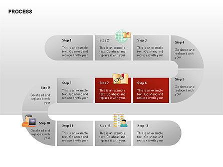Process Diagrams, Slide 7, 00288, Process Diagrams — PoweredTemplate.com