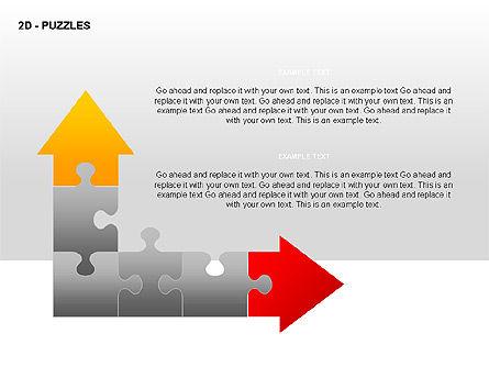 Puzzles Diagrams, Slide 13, 00289, Puzzle Diagrams — PoweredTemplate.com