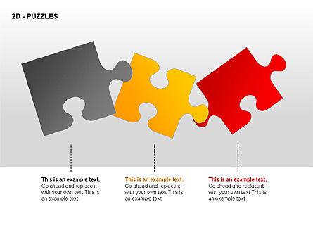Puzzles Diagrams, Slide 14, 00289, Puzzle Diagrams — PoweredTemplate.com