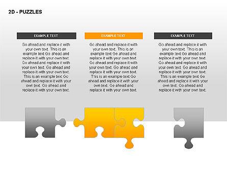 Puzzles Diagrams, Slide 15, 00289, Puzzle Diagrams — PoweredTemplate.com