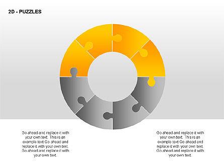 Puzzles Diagrams, Slide 6, 00289, Puzzle Diagrams — PoweredTemplate.com