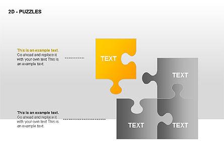 Puzzles Diagrams, Slide 8, 00289, Puzzle Diagrams — PoweredTemplate.com