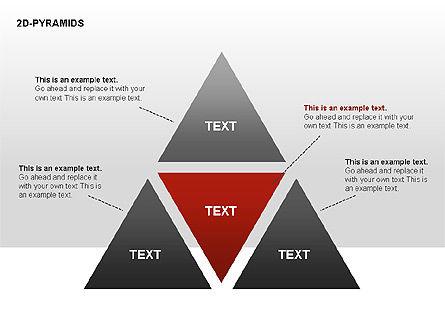Pyramid Diagrams, Slide 10, 00290, Shapes — PoweredTemplate.com