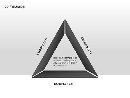 Pyramid Diagrams, Slide 12, 00290, Shapes — PoweredTemplate.com