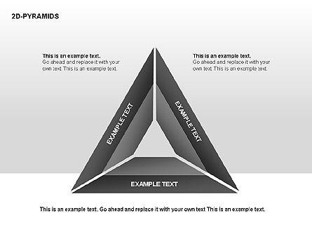 Pyramid Diagrams, Slide 14, 00290, Shapes — PoweredTemplate.com