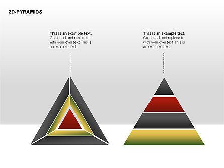 Pyramid Diagrams, Slide 16, 00290, Shapes — PoweredTemplate.com