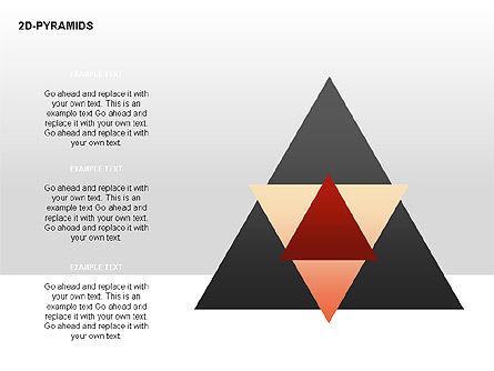 Pyramid Diagrams, Slide 18, 00290, Shapes — PoweredTemplate.com