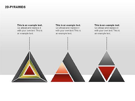 Pyramid Diagrams, Slide 19, 00290, Shapes — PoweredTemplate.com