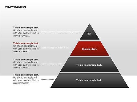Pyramid Diagrams, Slide 20, 00290, Shapes — PoweredTemplate.com
