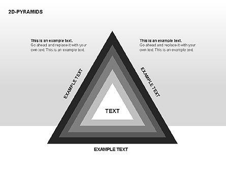 Pyramid Diagrams, Slide 8, 00290, Shapes — PoweredTemplate.com