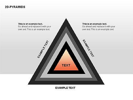 Pyramid Diagrams, Slide 9, 00290, Shapes — PoweredTemplate.com
