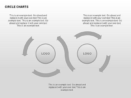 Circle Process Charts Collection, Slide 14, 00291, Shapes — PoweredTemplate.com