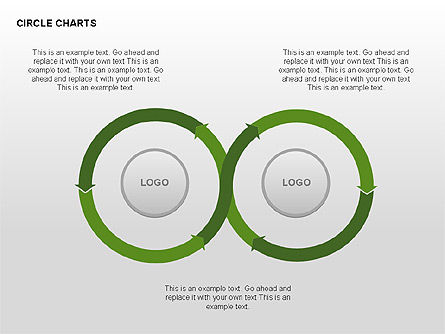 Circle Process Charts Collection Slide 3