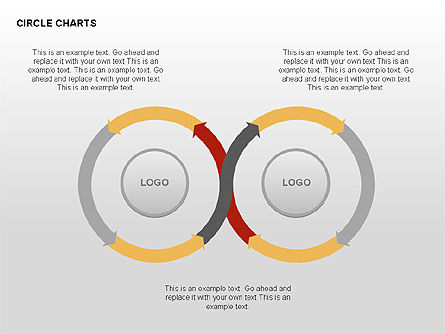 Circle Process Charts Collection Slide 4