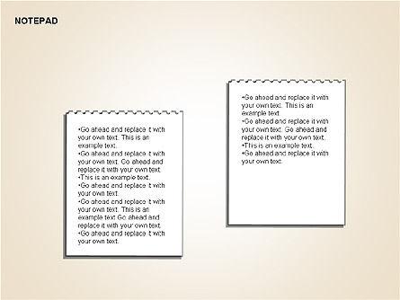Diary Shapes and Diagrams, Slide 15, 00292, Timelines & Calendars — PoweredTemplate.com