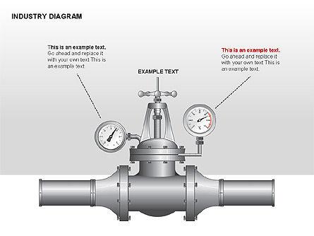 Industry Diagram, Slide 15, 00294, Stage Diagrams — PoweredTemplate.com