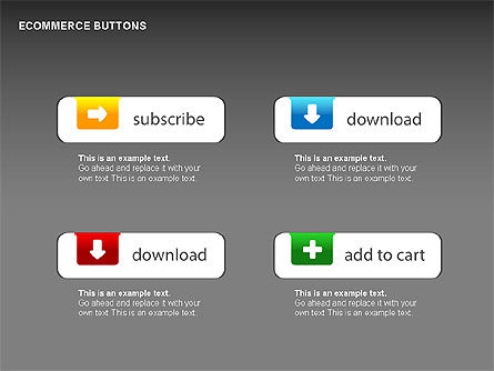 Shapes: Ecommerce Buttons #00298