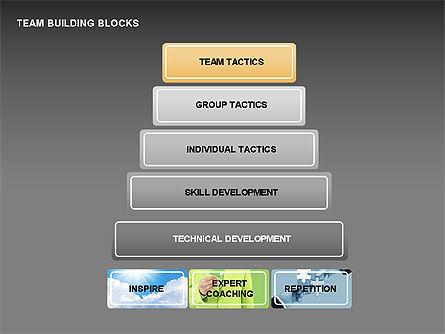 Team Building Blocks, Slide 11, 00299, Organizational Charts — PoweredTemplate.com