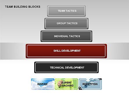 Team Building Blocks, Slide 2, 00299, Organizational Charts — PoweredTemplate.com