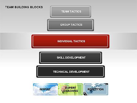 Team Building Blocks, Slide 3, 00299, Organizational Charts — PoweredTemplate.com