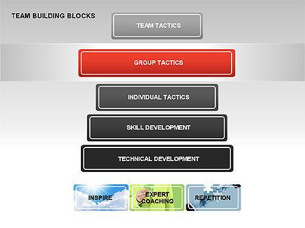 Team Building Blocks, Slide 4, 00299, Organizational Charts — PoweredTemplate.com