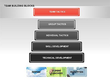 Team Building Blocks, Slide 5, 00299, Organizational Charts — PoweredTemplate.com