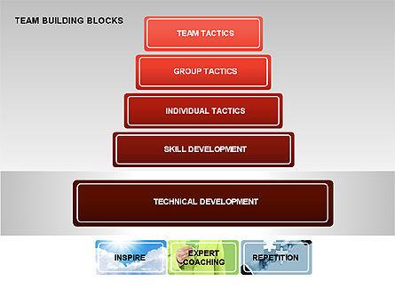 Team Building Blocks, Slide 6, 00299, Organizational Charts — PoweredTemplate.com
