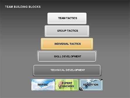 Team Building Blocks, Slide 9, 00299, Organizational Charts — PoweredTemplate.com
