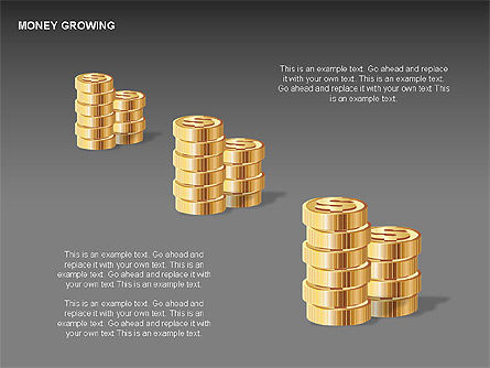Money Growing Diagrams, Slide 7, 00300, Stage Diagrams — PoweredTemplate.com