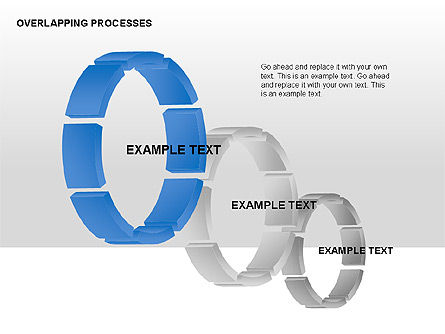 Overlapping Processes, Slide 10, 00311, Process Diagrams — PoweredTemplate.com