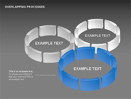 Overlapping Processes, Slide 11, 00311, Process Diagrams — PoweredTemplate.com