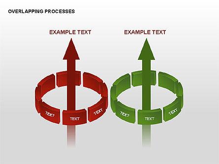Overlapping Processes, Slide 13, 00311, Process Diagrams — PoweredTemplate.com