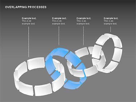 Overlapping Processes, Slide 14, 00311, Process Diagrams — PoweredTemplate.com