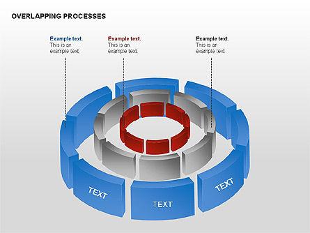 Overlapping Processes, Slide 15, 00311, Process Diagrams — PoweredTemplate.com