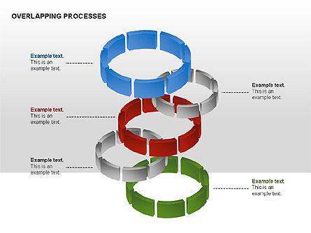 Overlapping Processes, Slide 5, 00311, Process Diagrams — PoweredTemplate.com