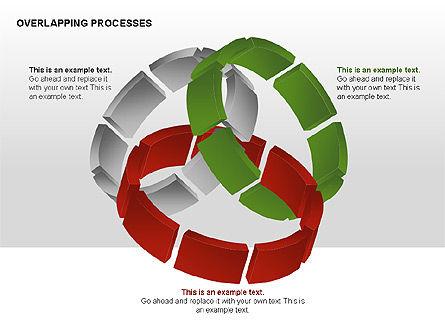 Overlapping Processes, Slide 6, 00311, Process Diagrams — PoweredTemplate.com