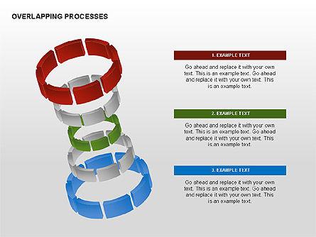 Overlapping Processes, Slide 8, 00311, Process Diagrams — PoweredTemplate.com