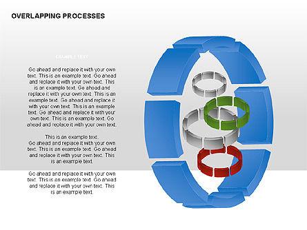 Overlapping Processes, Slide 9, 00311, Process Diagrams — PoweredTemplate.com