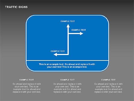 Traffic Signs Diagrams, Slide 11, 00318, Shapes — PoweredTemplate.com