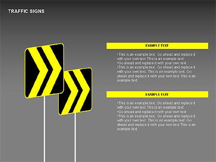 Traffic Signs Diagrams, Slide 5, 00318, Shapes — PoweredTemplate.com