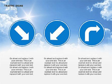 Traffic Signs Diagrams, Slide 6, 00318, Shapes — PoweredTemplate.com