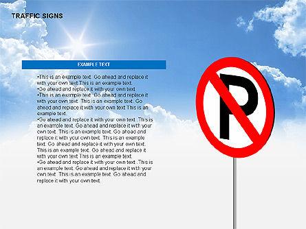 Traffic Signs Diagrams, Slide 8, 00318, Shapes — PoweredTemplate.com